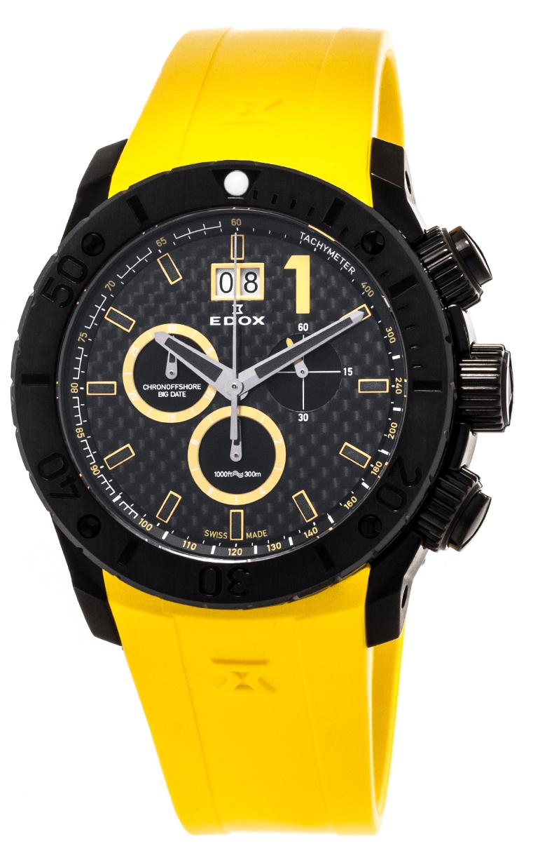 Часы Edox Chronoffshore-1 Big Date 10020 37N JN2