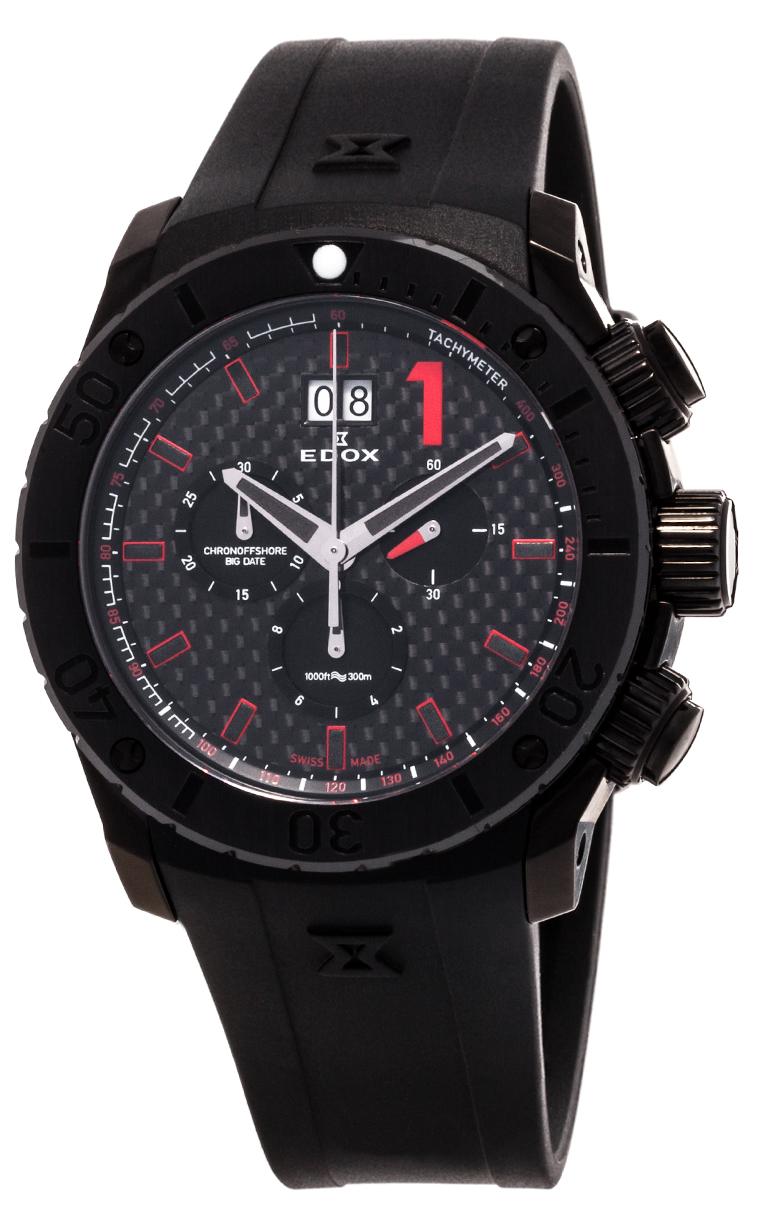 Часы Edox Chronoffshore-1 Big Date 10020 37N NRO