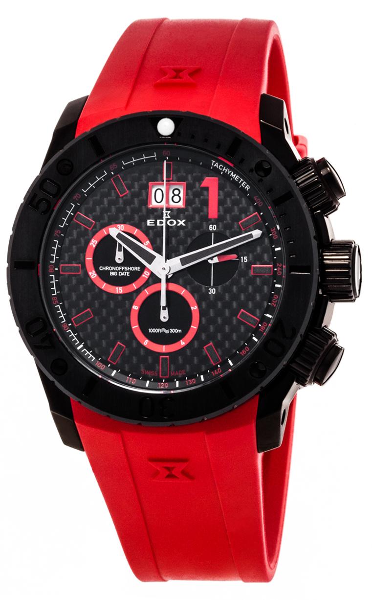 Часы Edox Chronoffshore-1 Big Date 10020 37N NRO2
