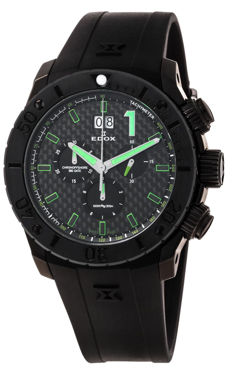 Часы Edox Chronoffshore-1 Big Date 10020 37N NV