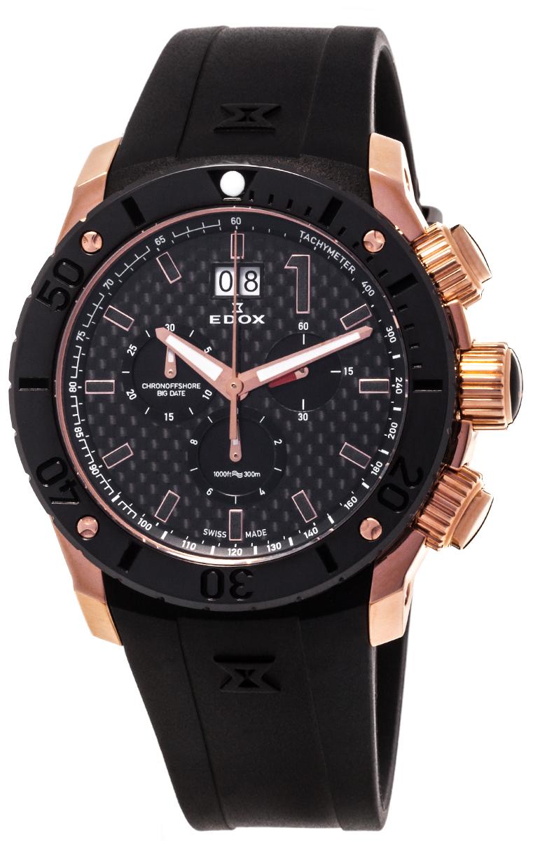 Часы Edox Chronoffshore-1 Big Date 10020 37R NIR