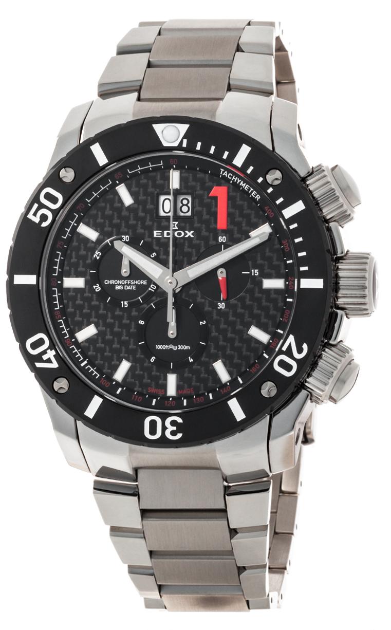 Часы Edox Chronoffshore-1 Big Date 10021 3 NIN