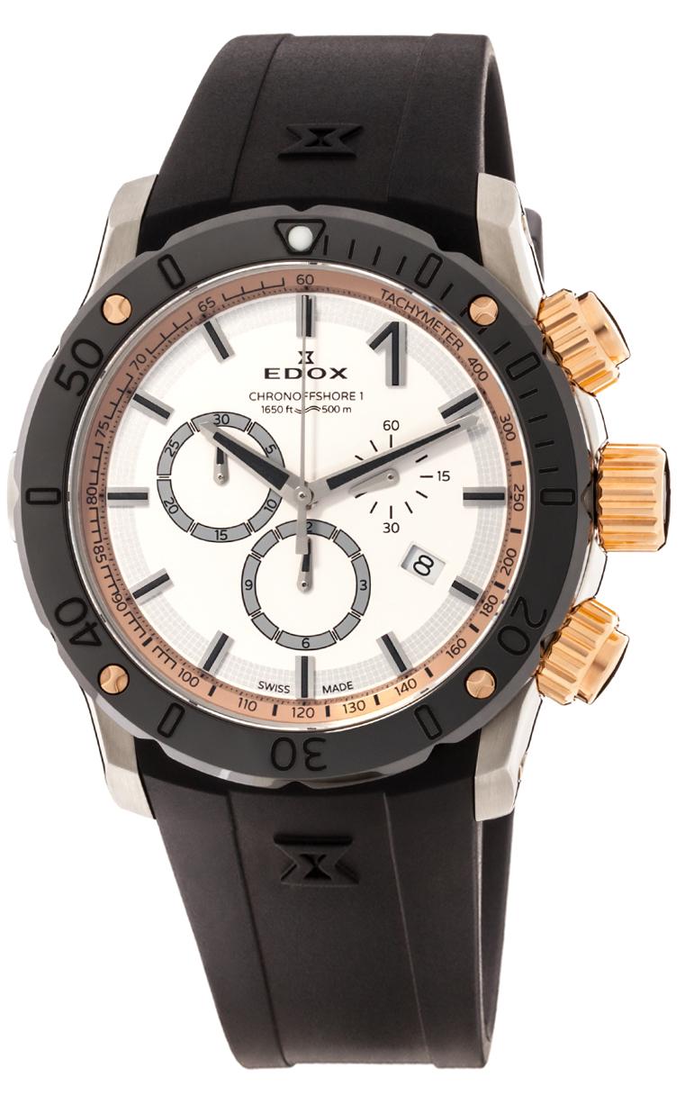 Часы Edox Chronoffshore-1 Chronograph 10221 357R BINR