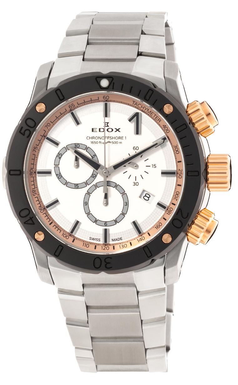 Часы Edox Chronoffshore-1 Chronograph 10221 357RM BINR