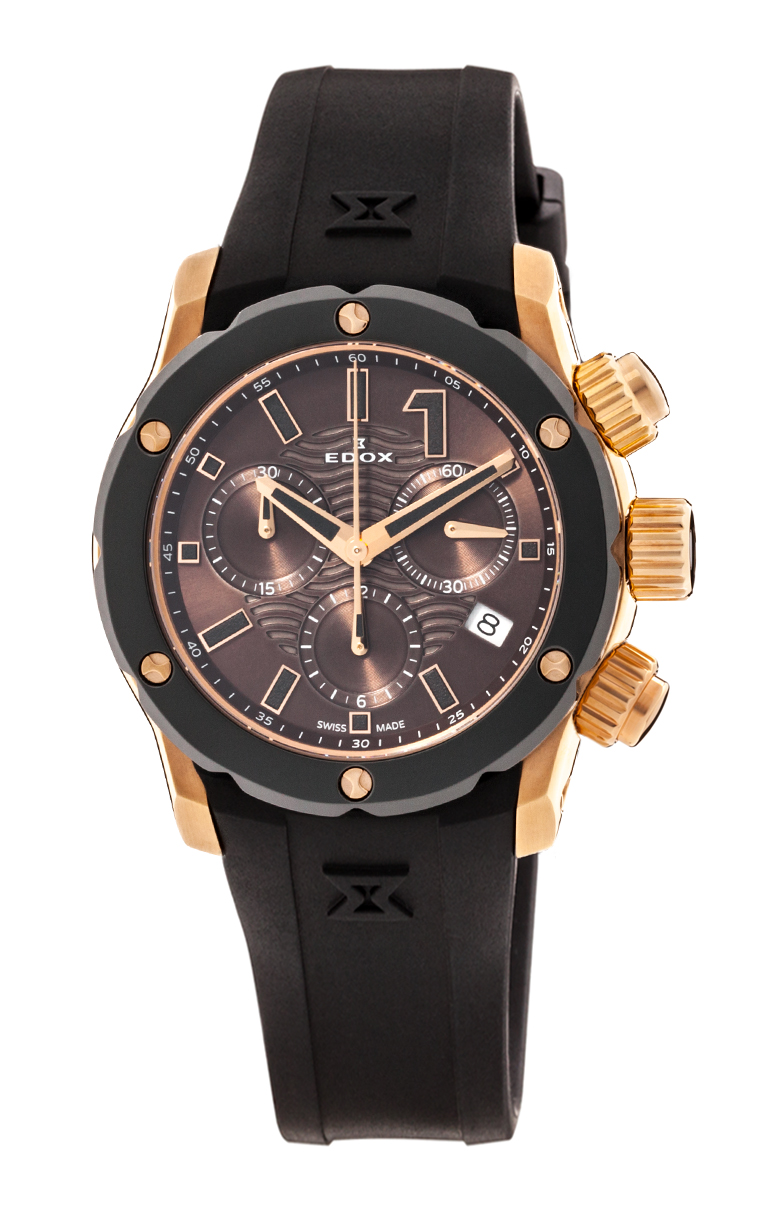 Часы Edox Chronoffshore-1 Chronolady 10225 37R BRIR