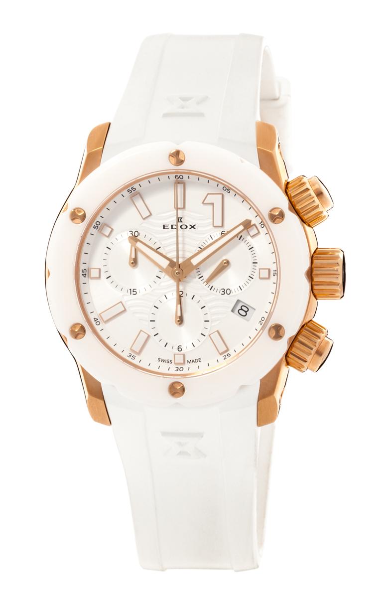 Часы Edox Chronoffshore-1 Chronolady 10225 37RB BIR