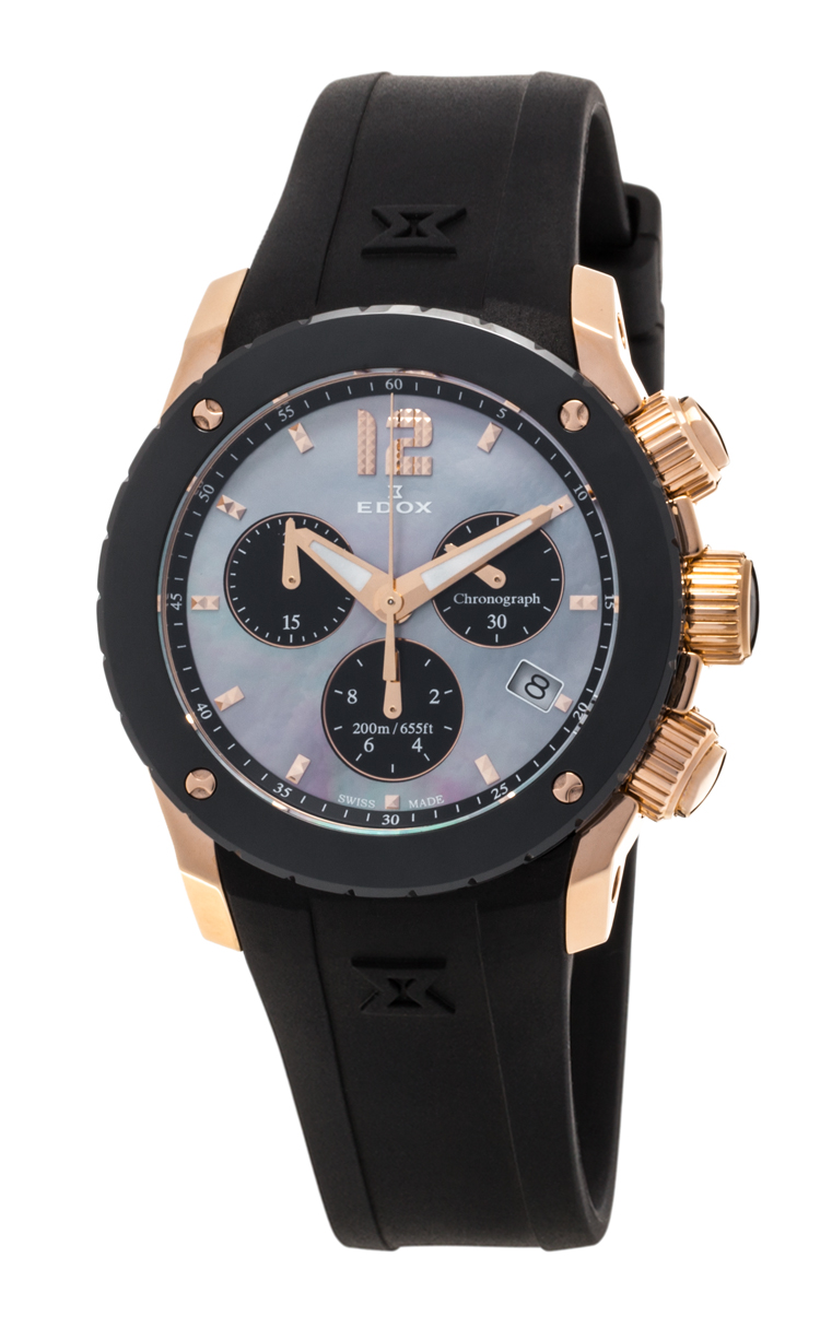 Часы Edox Chronoffshore-1 Chronolady 10411 37RN NANR