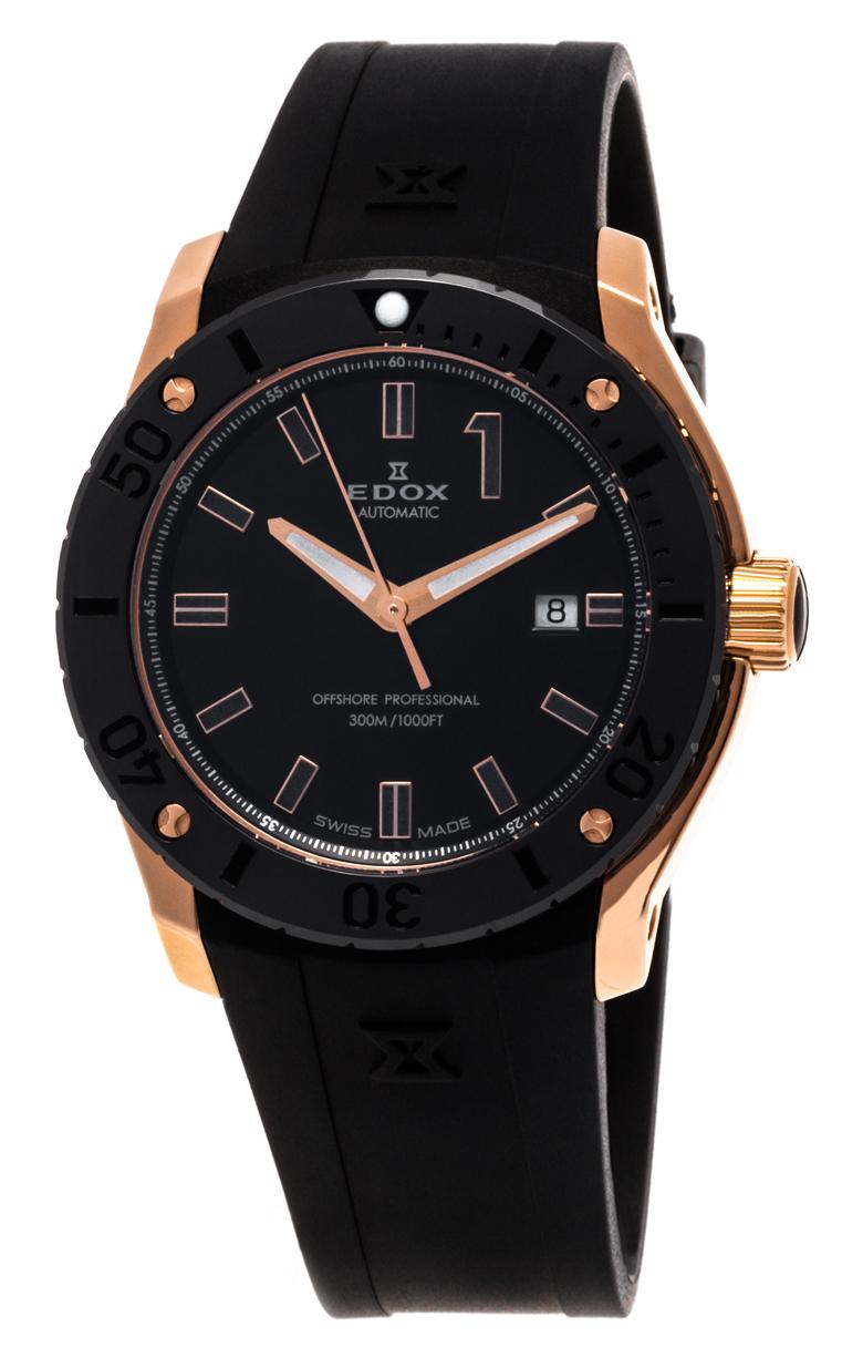 Часы Edox Chronoffshore-1 Date Automatic 80088 37R NIR