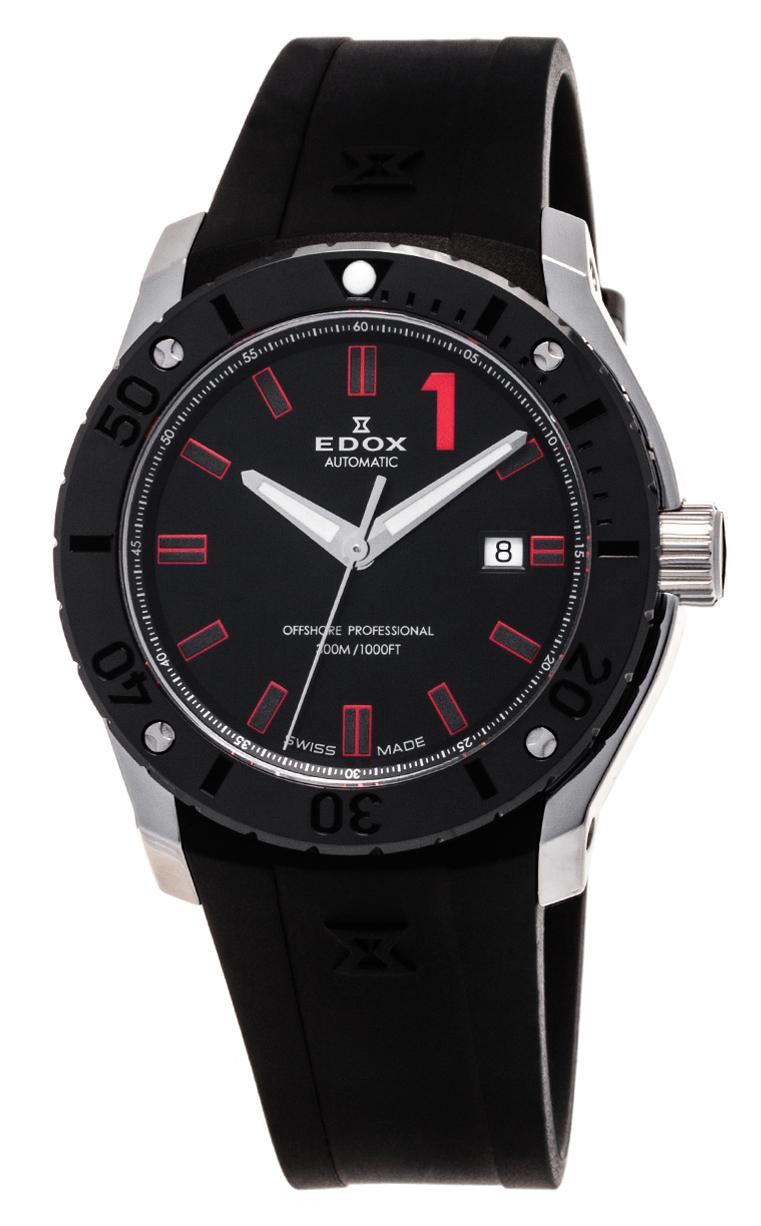 Часы Edox Chronoffshore-1 Date Automatic 80088 3N NRO