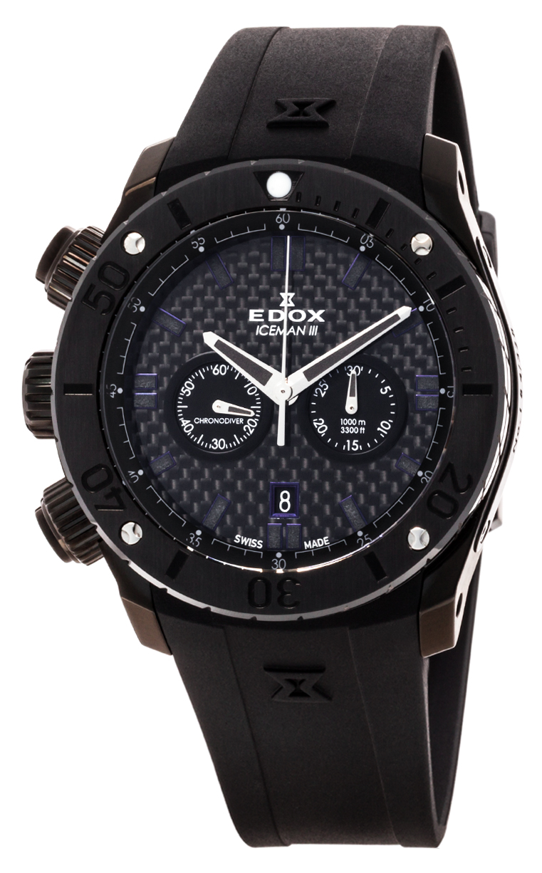 Часы Edox Chronoffshore-1 Iceman III L.E. 10306 37NR GIR