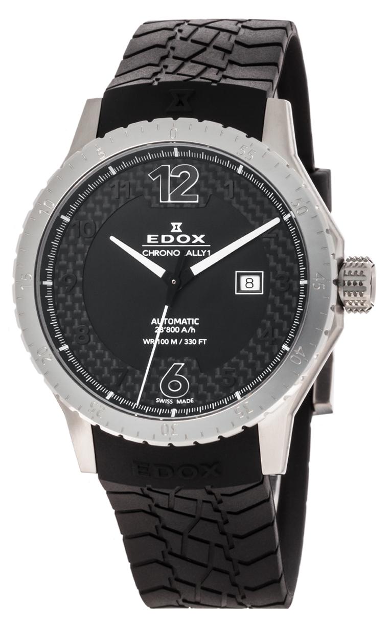 Часы Edox Chronorally1 Automatic 80094 3 NN