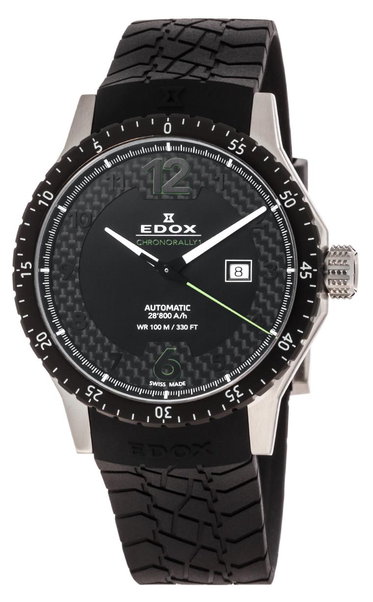 Часы Edox Chronorally1 Automatic 80094 3N NV