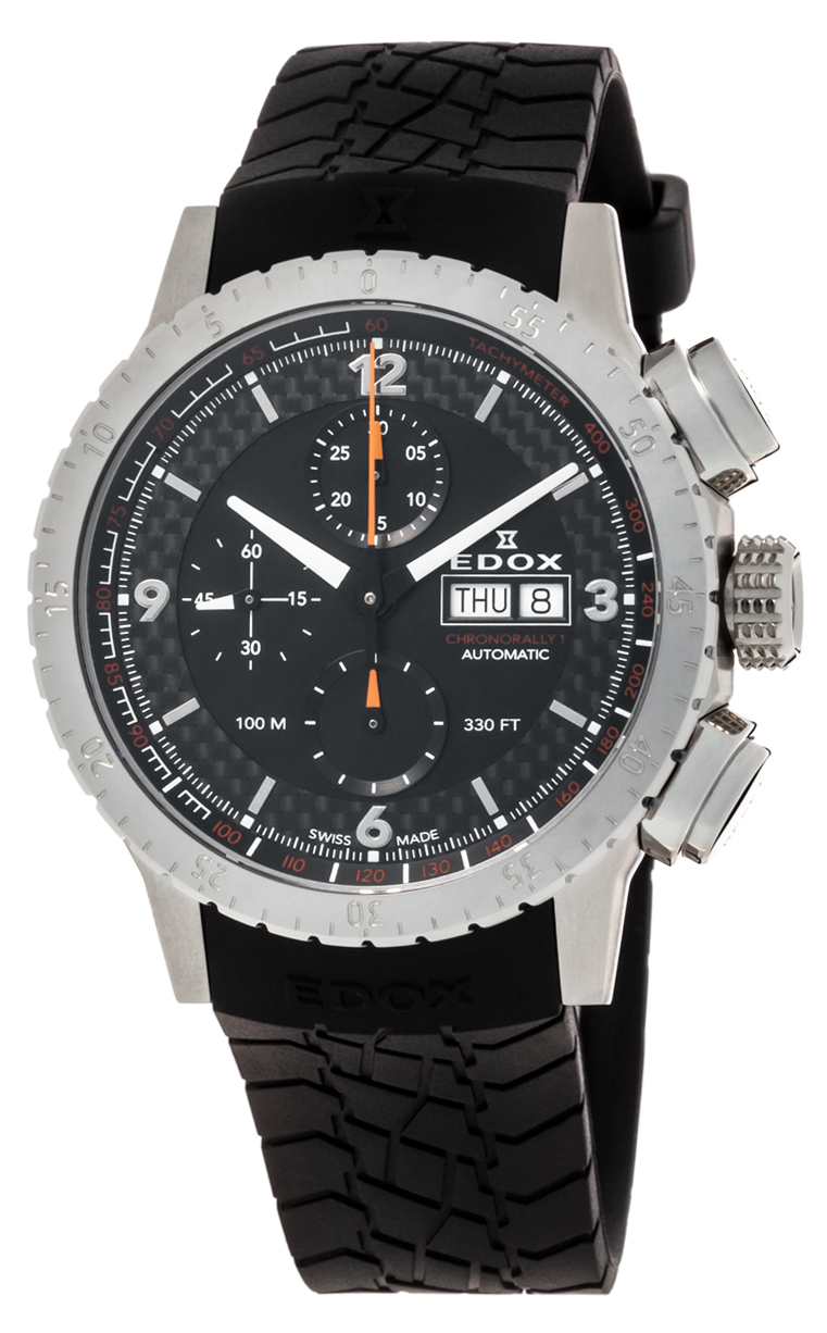 Часы Edox Chronorally1 Chronograph Automatic 01118 3 NO