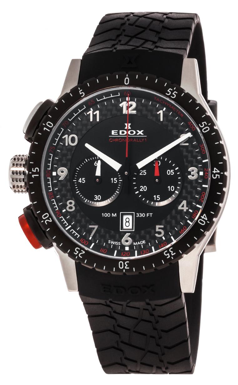 Часы Edox Chronorally1 Chronorally 10305 3NR NR