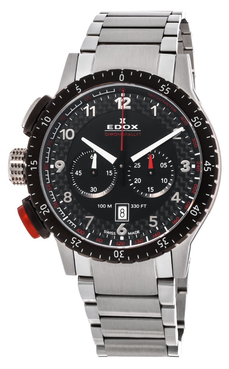 Часы Edox Chronorally1 Chronorally 10305 3NRM NR