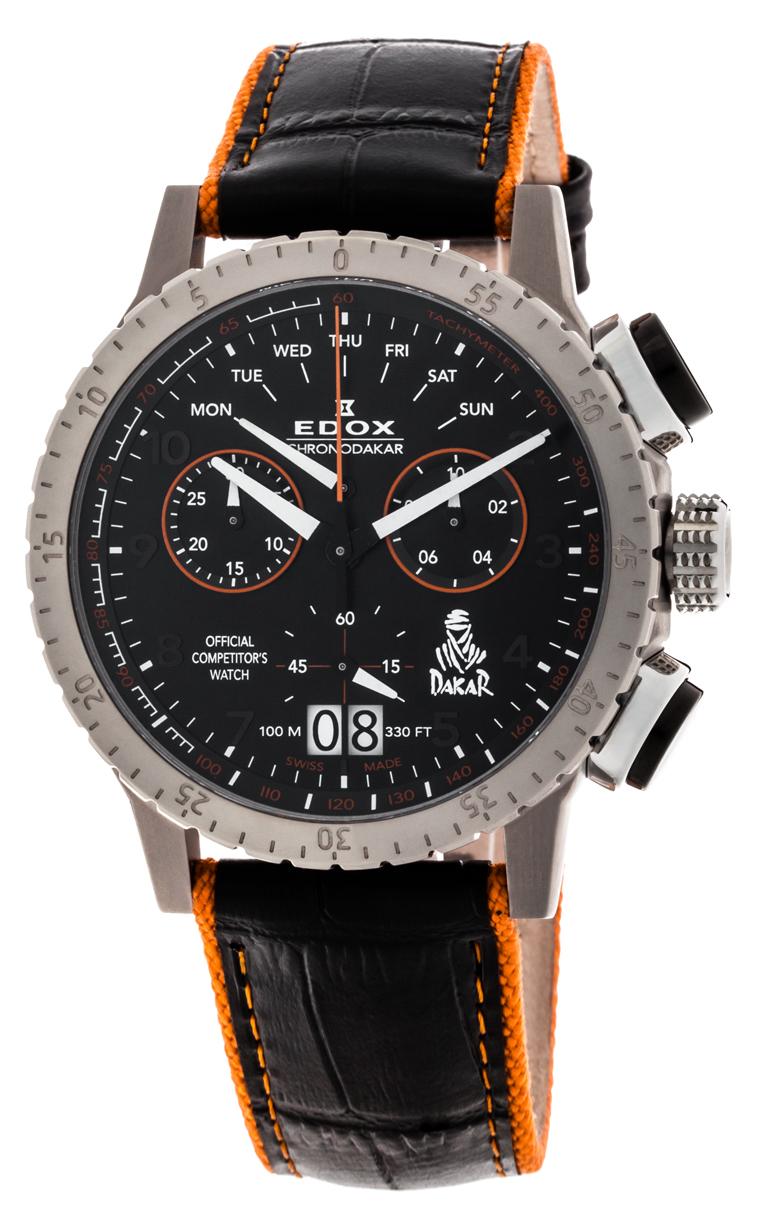 Часы Edox Chronorally1 Chronodakar L.E. 38002 TIN NO