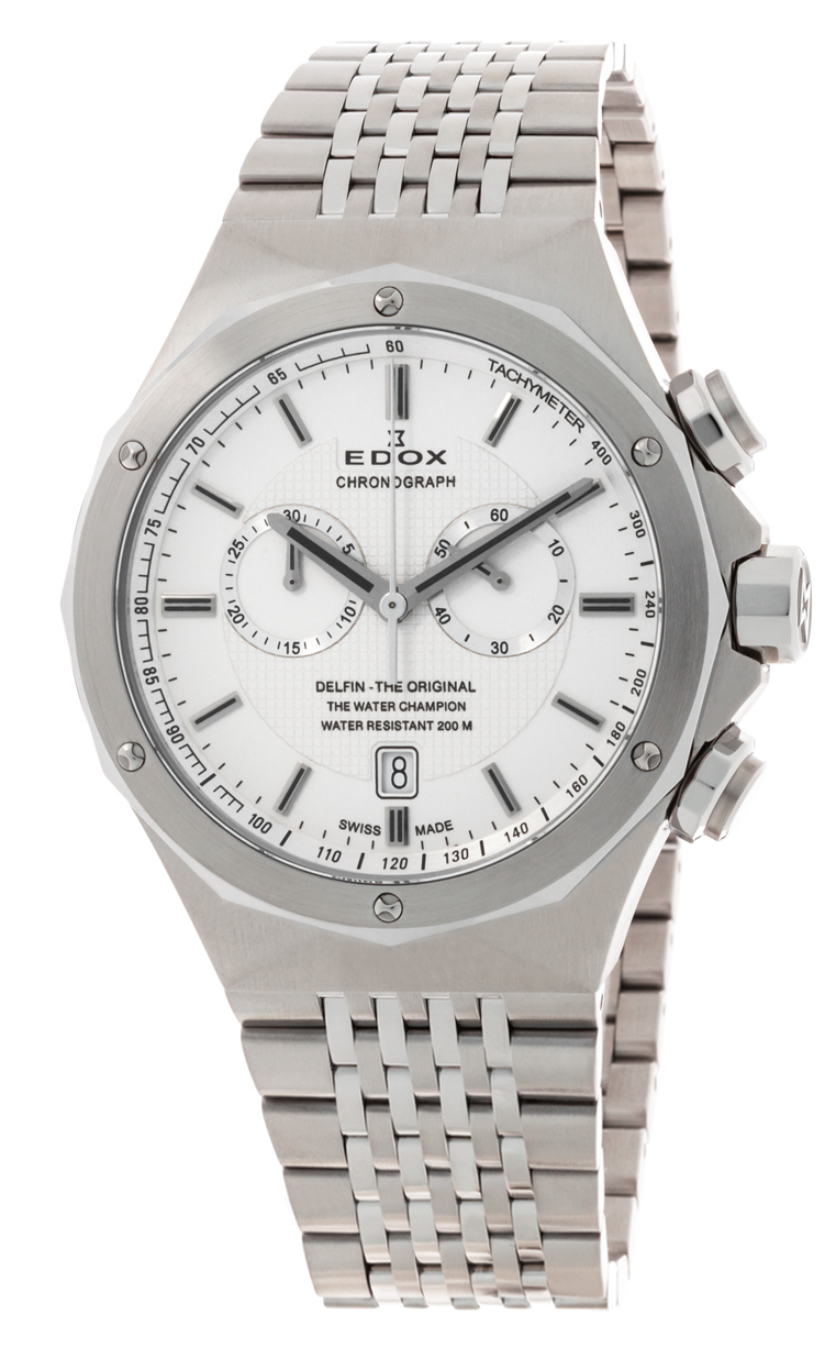Часы Edox Delfin Chronograph 10106 3 AIN