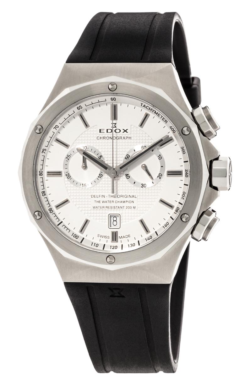 Часы Edox Delfin Chronograph 10107 3CA AIN