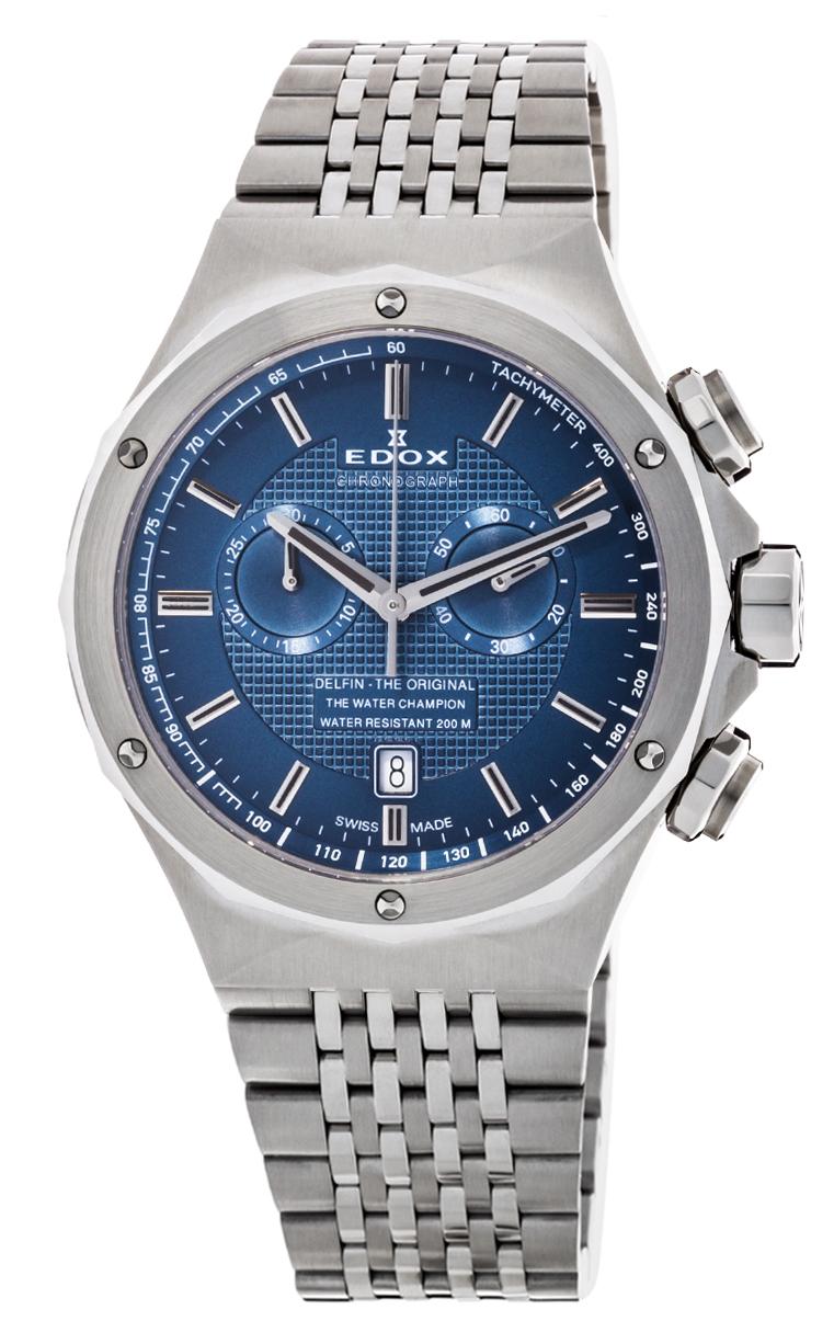 Часы Edox Delfin Chronograph 10108 3 BUIN