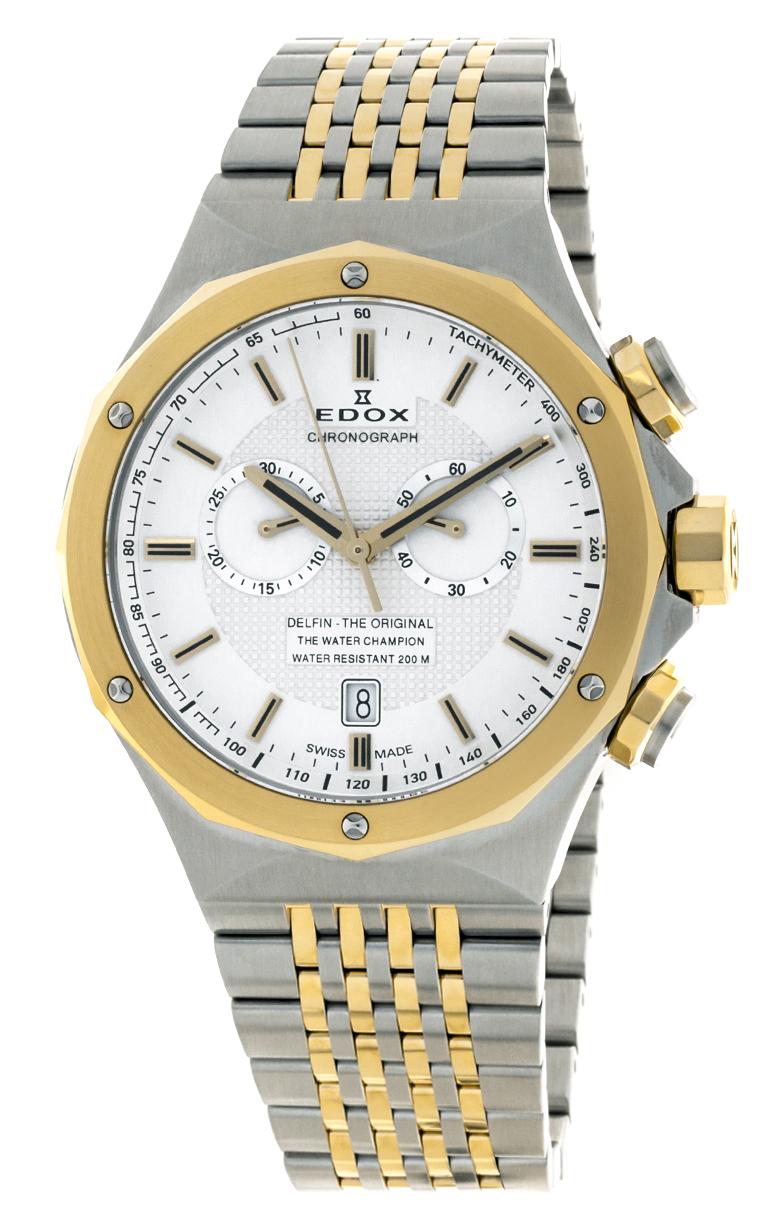 Часы Edox Delfin Chronograph 10108 357J AID