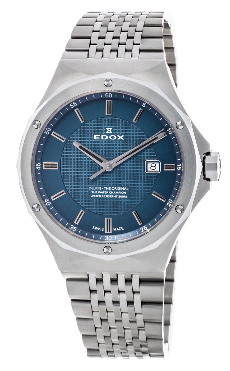 Часы Edox Delfin The Original 53005 3M BUIN
