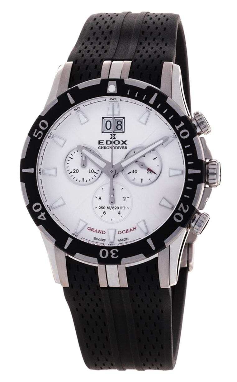 Часы Edox Grand Ocean Chronodiver 10022 3 AIN