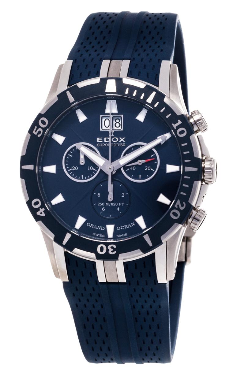 Часы Edox Grand Ocean Chronodiver 10022 357B BUIN