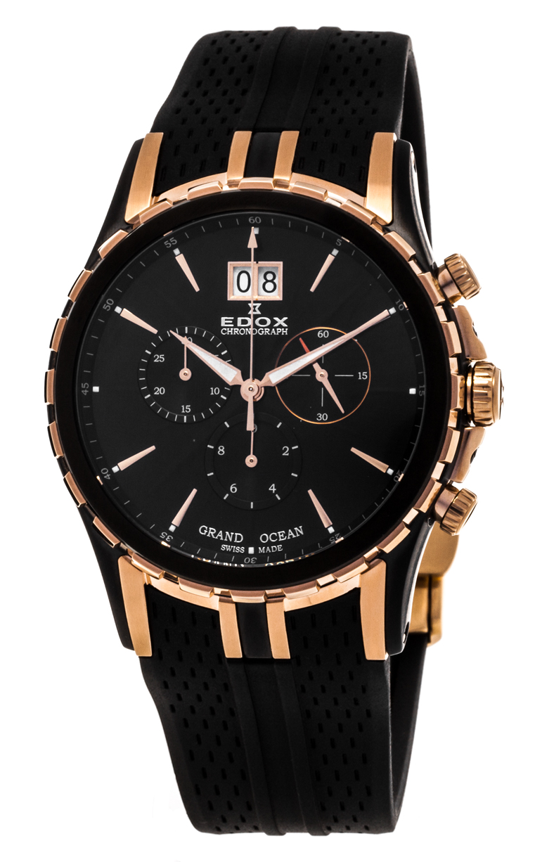 Часы Edox Grand Ocean Chronograph 10023 357RN NIR