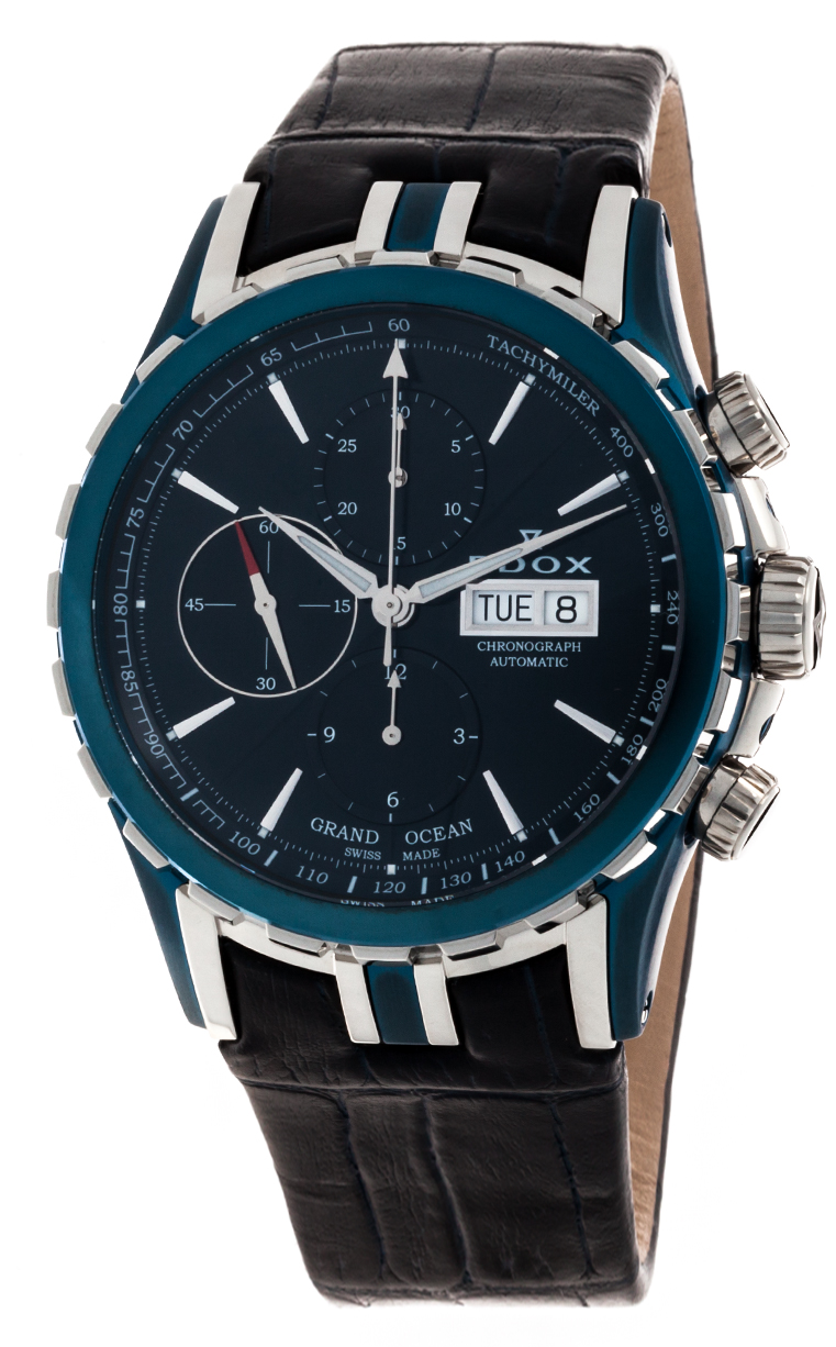 Часы Edox Grand Ocean Chronograph Automatic 01113 357B BUIN