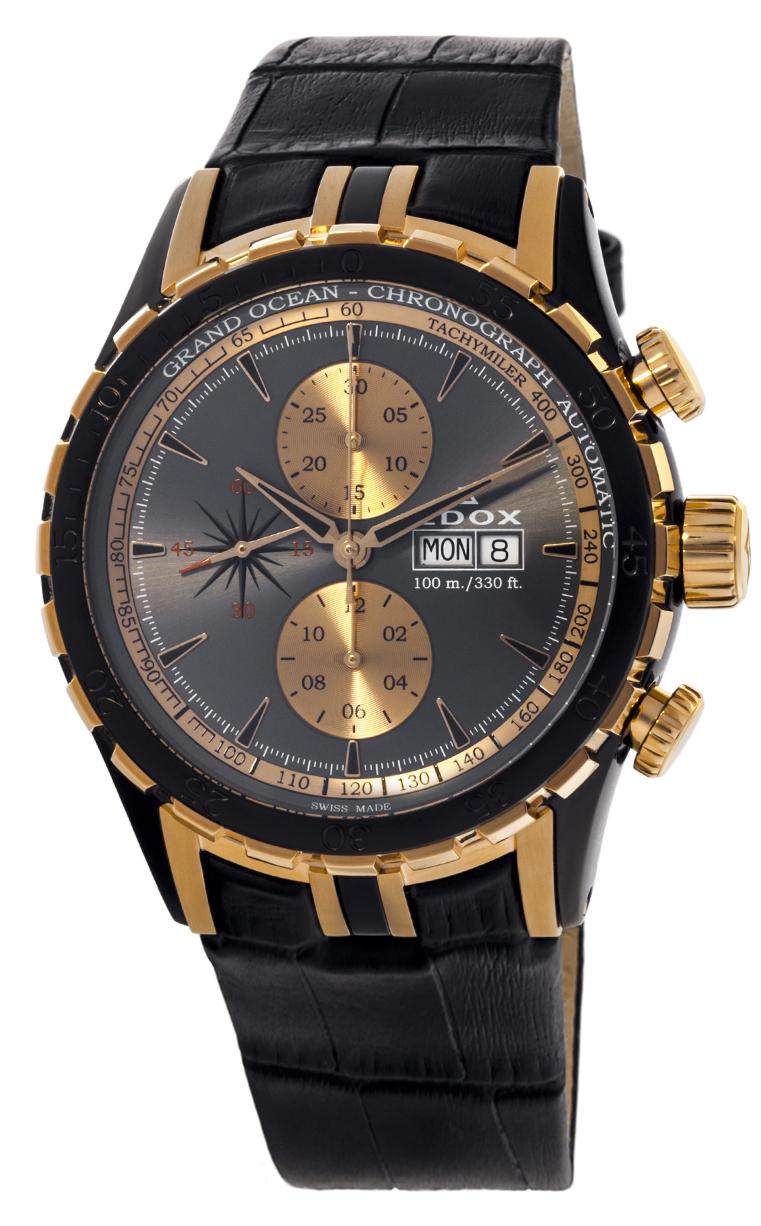 Часы Edox Grand Ocean Chronograph Automatic 01121 357NR GIR