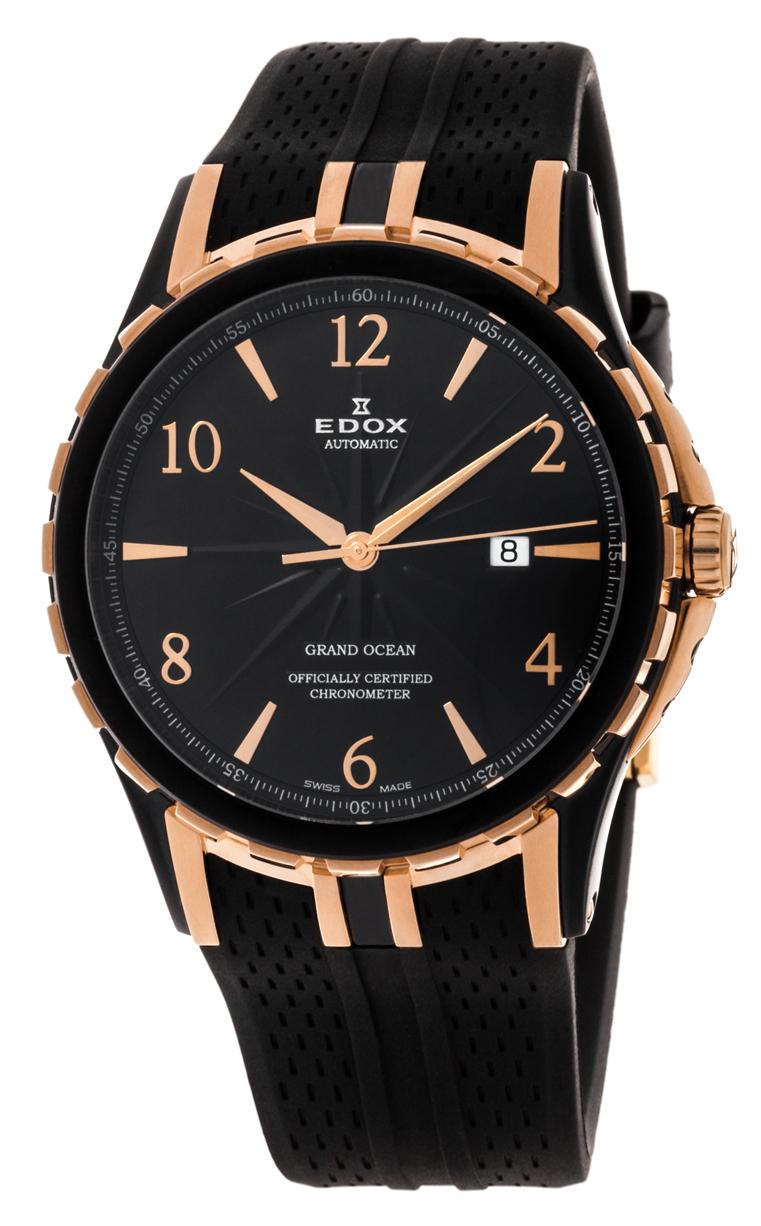 Часы Edox Grand Ocean Chronometer 80077 357BRR NBR