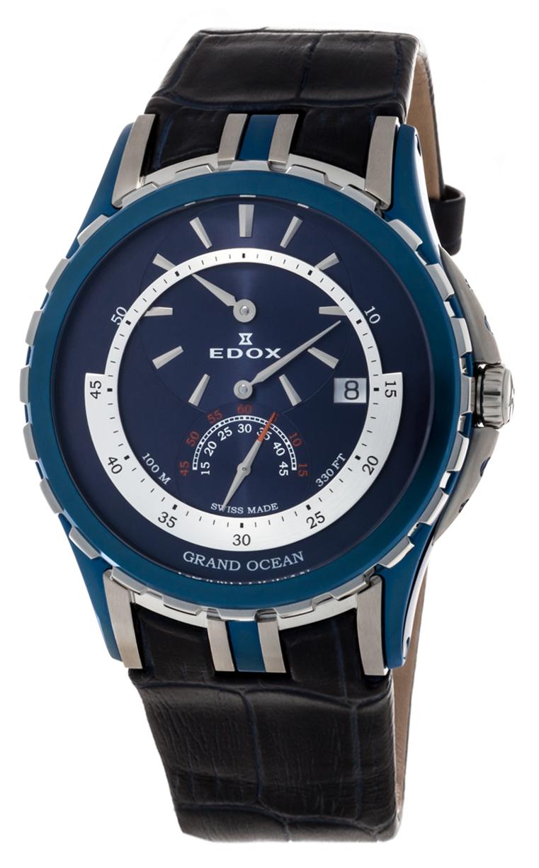 Часы Edox Grand Ocean Regulator 77002 357B BUIN