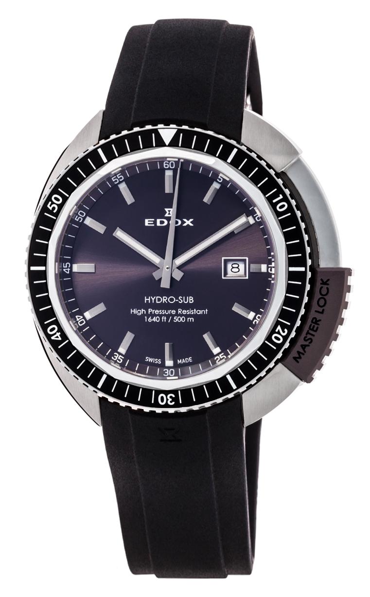 Часы Edox Hydro-Sub 3-Hands 53200 3NGCA GIN