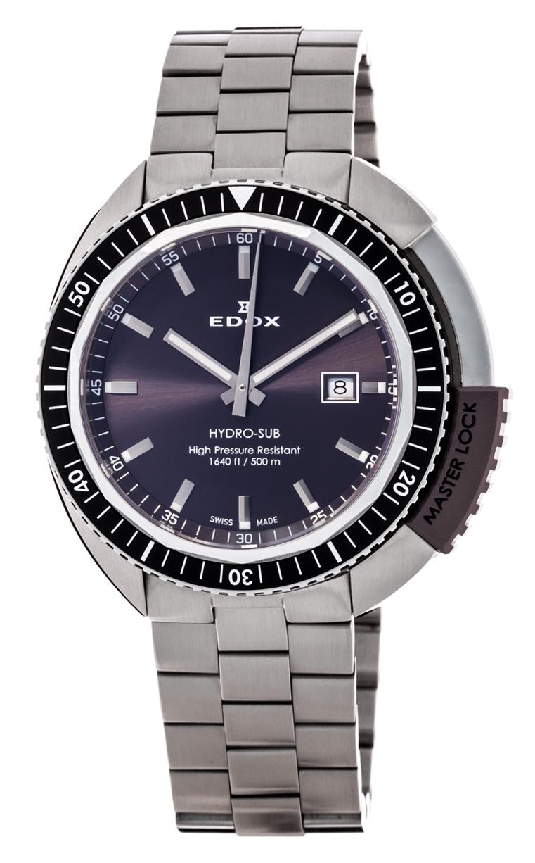 Часы Edox Hydro-Sub 3-Hands 53200 3NGM GIN