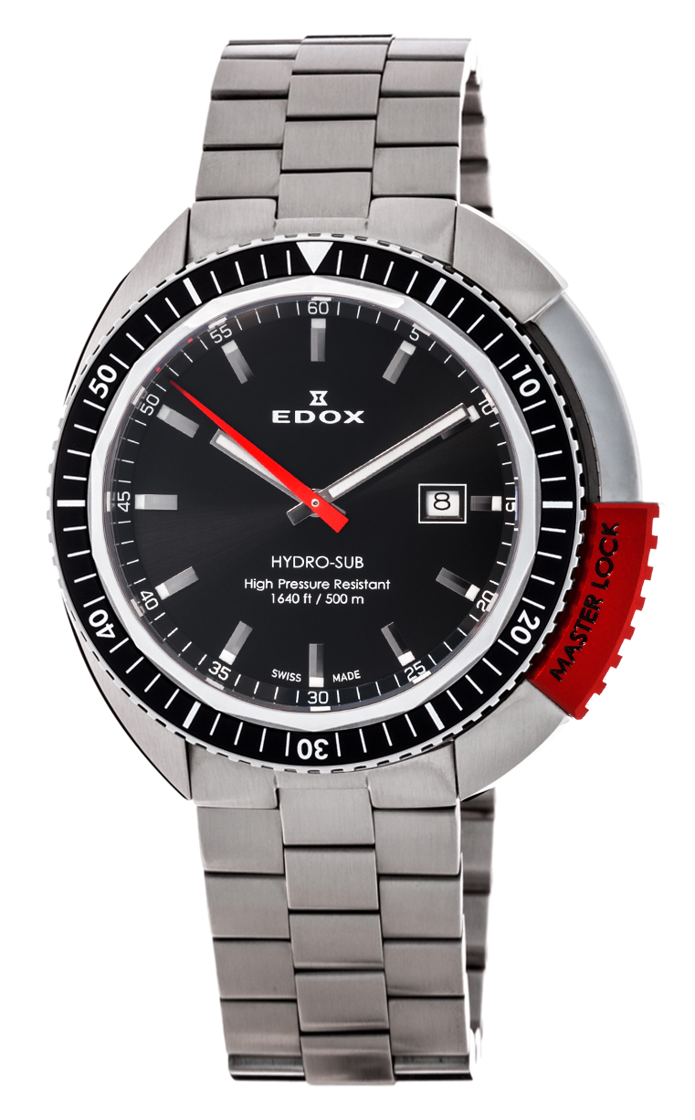 Часы Edox Hydro-Sub 3-Hands 53200 3NRM NIN