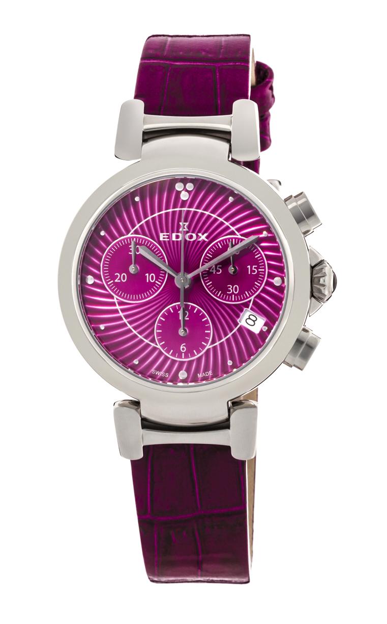 Часы Edox LaPassion Cronograph 10220 3C ROIN