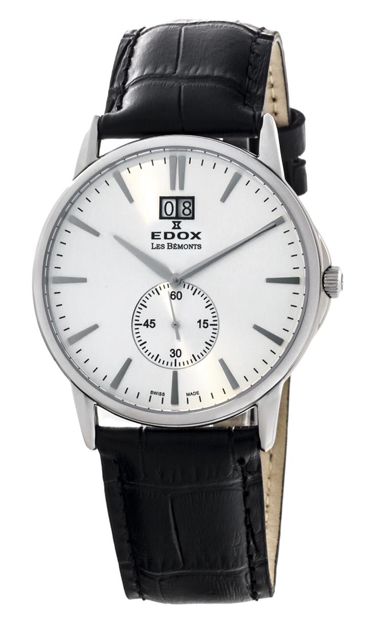 Часы Edox Les Bemonts Big Date 64012 3 AIN