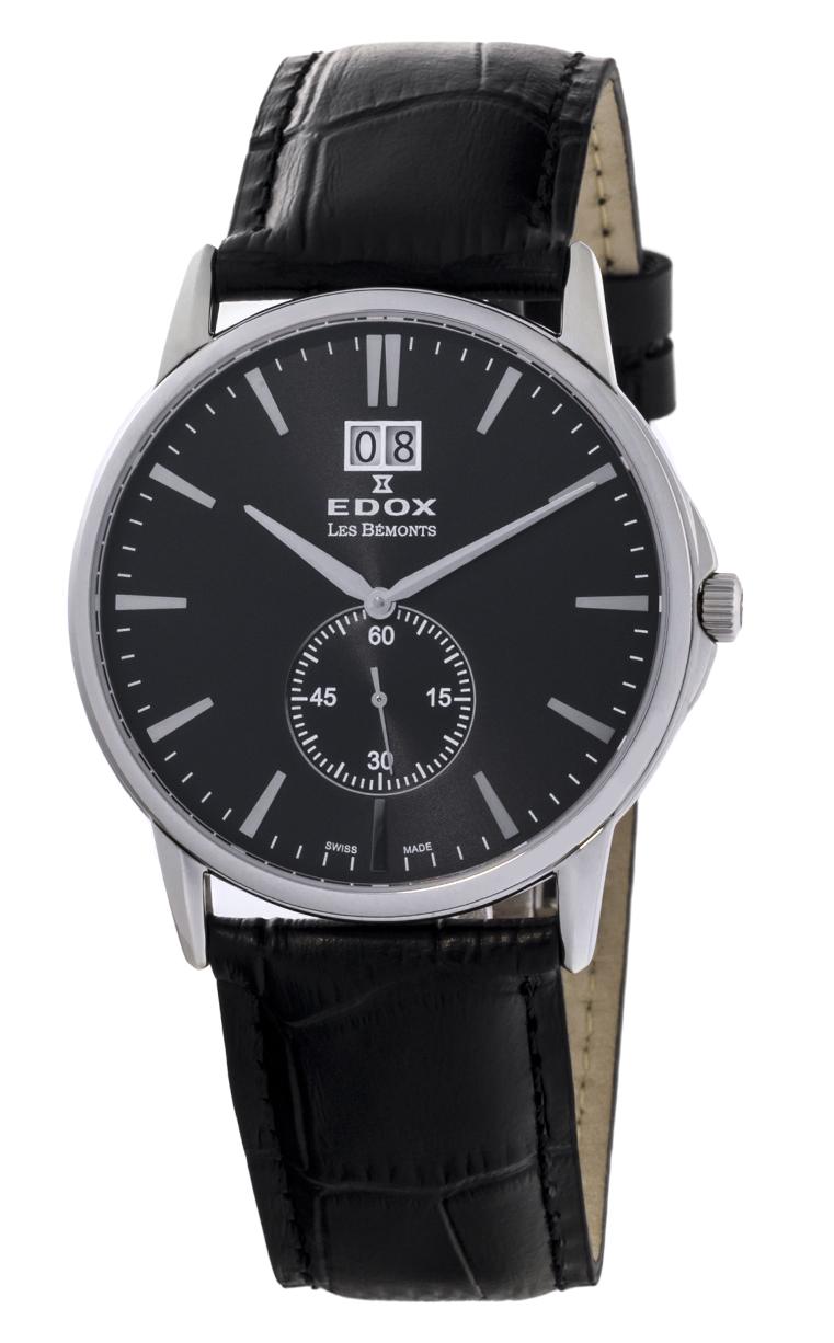 Часы Edox Les Bemonts Big Date 64012 3 NIN