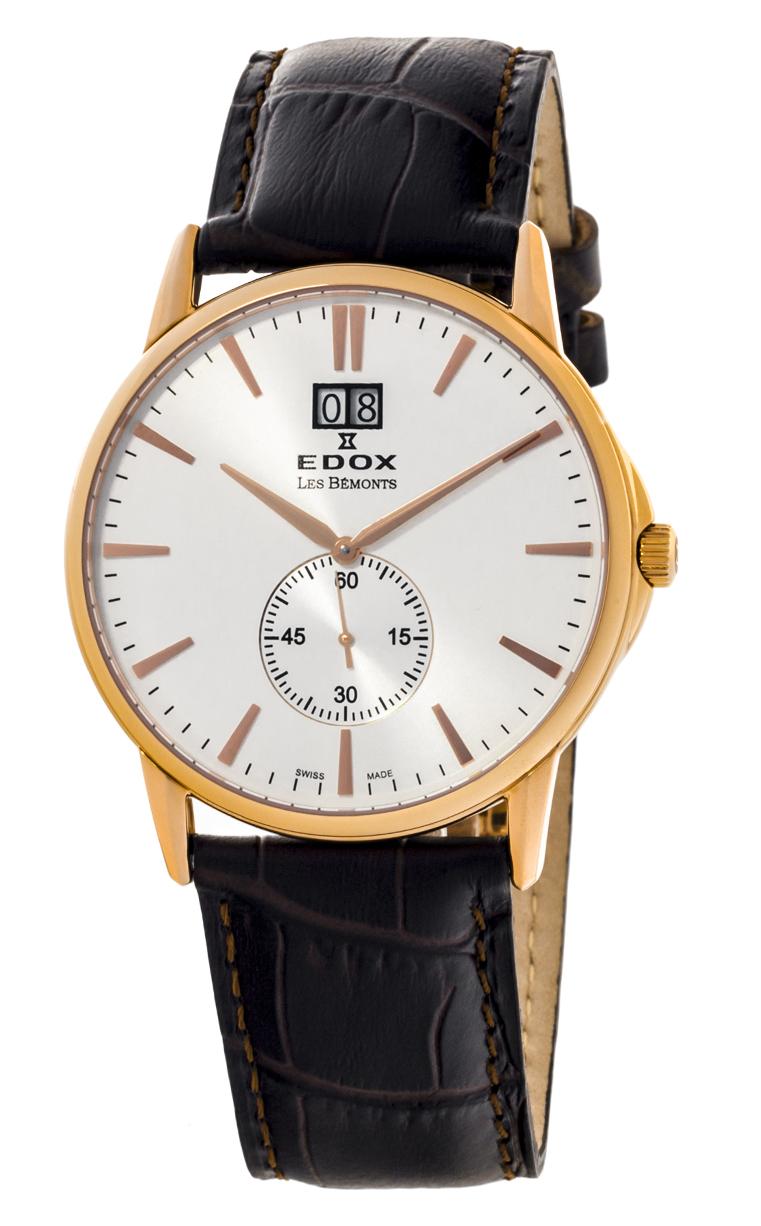 Часы Edox Les Bemonts Big Date 64012 37R AIR