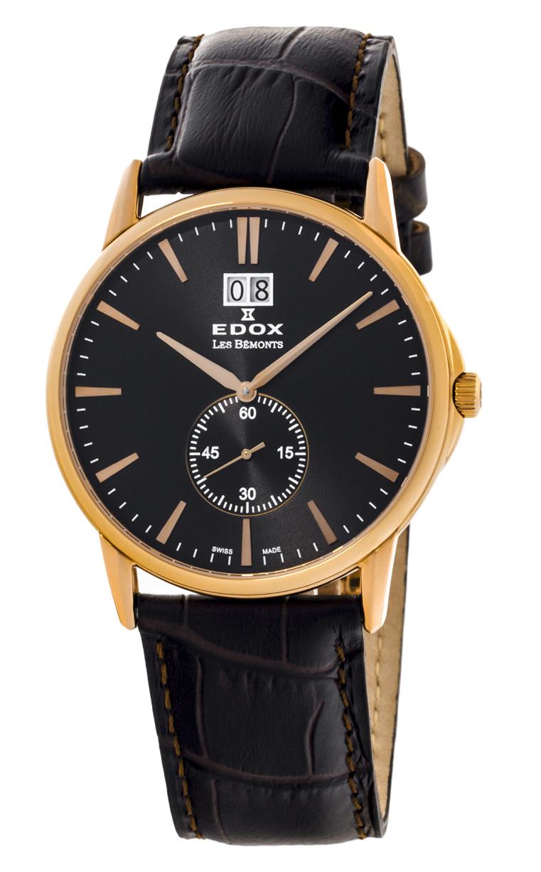 Часы Edox Les Bemonts Big Date 64012 37R NIR