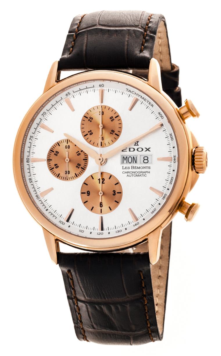 Часы Edox Les Bemonts Chronograph Automatic 01120 37R AIR
