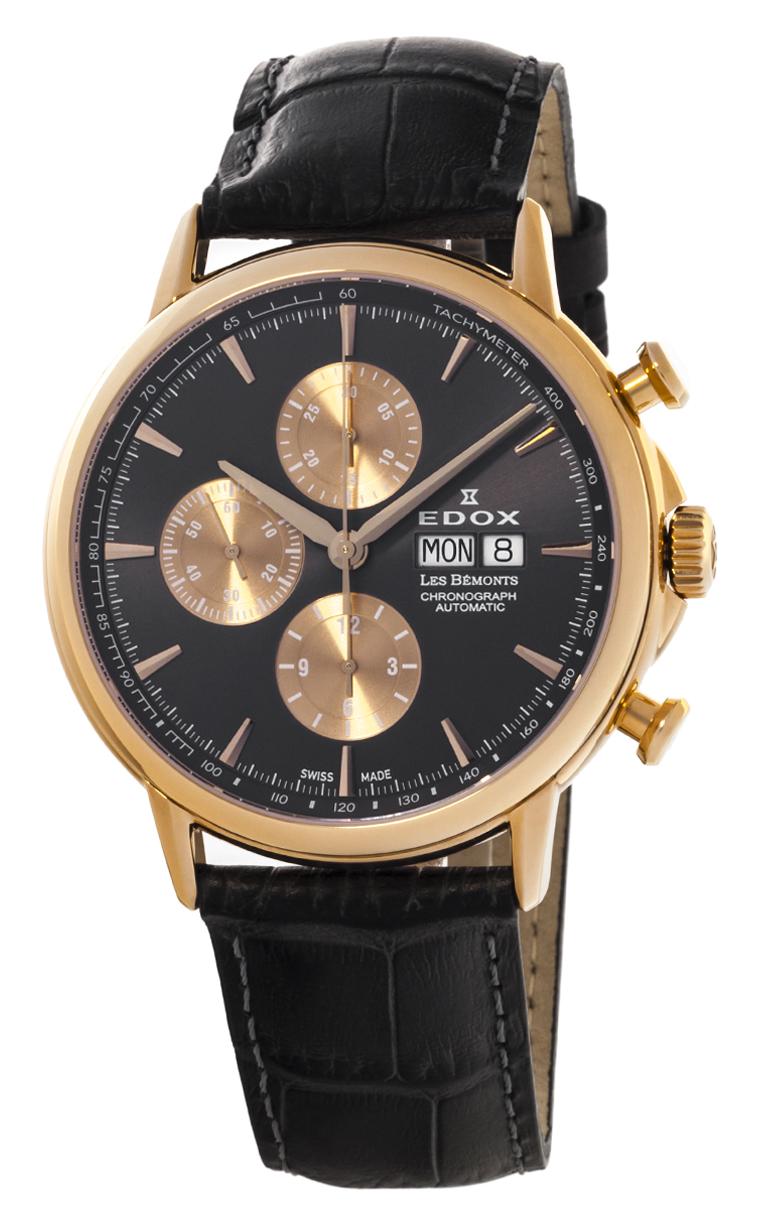 Часы Edox Les Bemonts Chronograph Automatic 01120 37R GIR