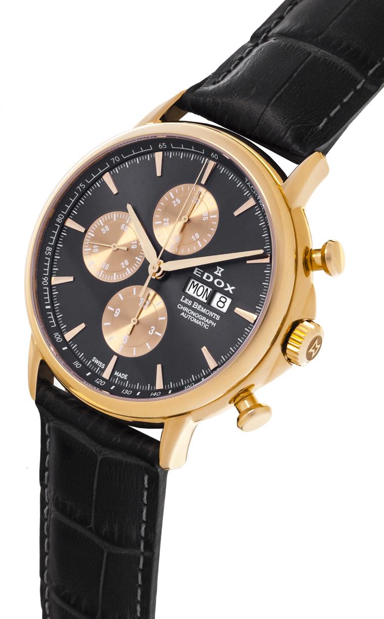 Часы edox — образцовый представитель класса «medium-luxury», сочетающий набор компонентов роскошных часов с умеренной стоимостью.
