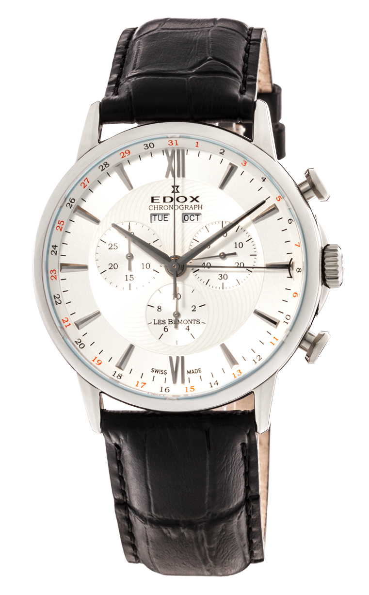 Часы Edox Les Bemonts Chronograph Complication 10501 3 AIN