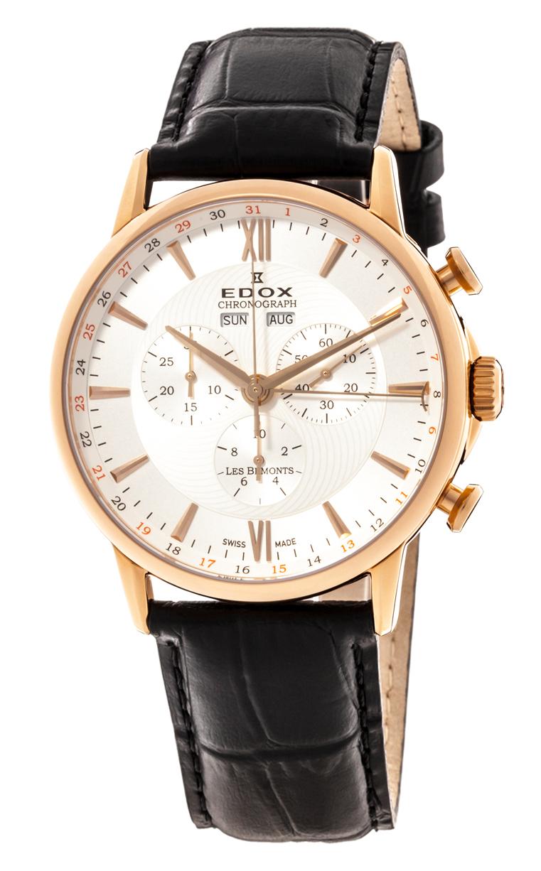 Часы Edox Les Bemonts Chronograph Complication 10501 37R AIR