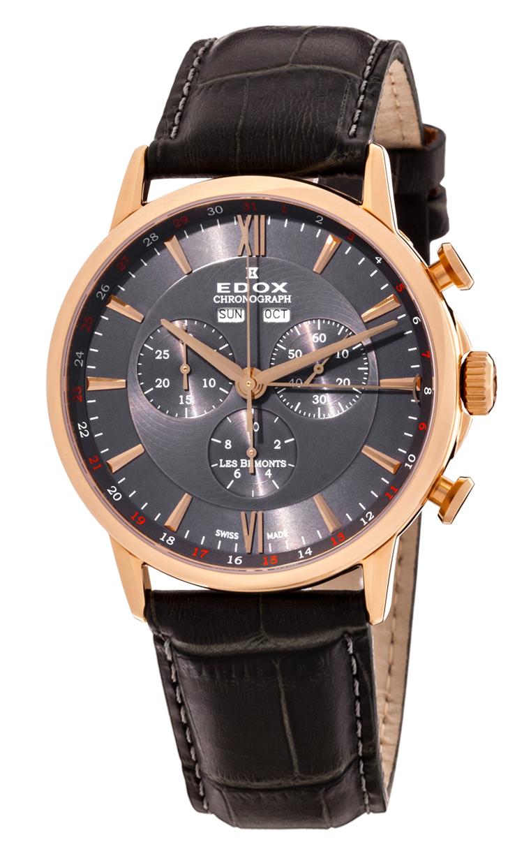 Часы Edox Les Bemonts Chronograph Complication 10501 37R GIR