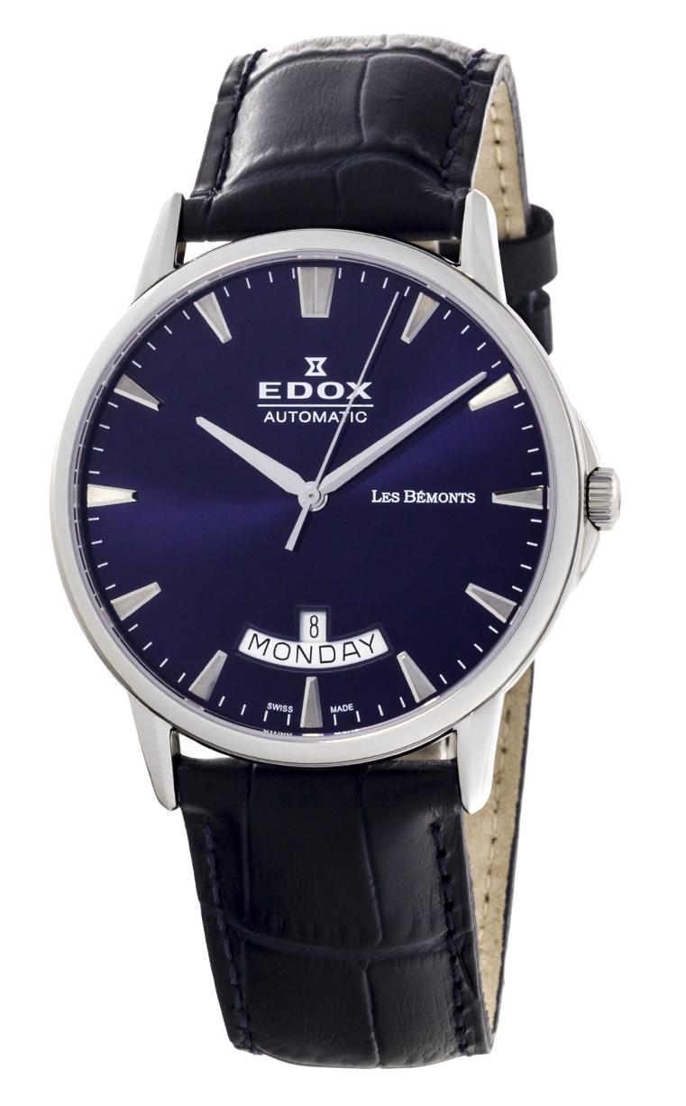 Часы Edox Les Bemonts Day Date 83015 3 BUIN