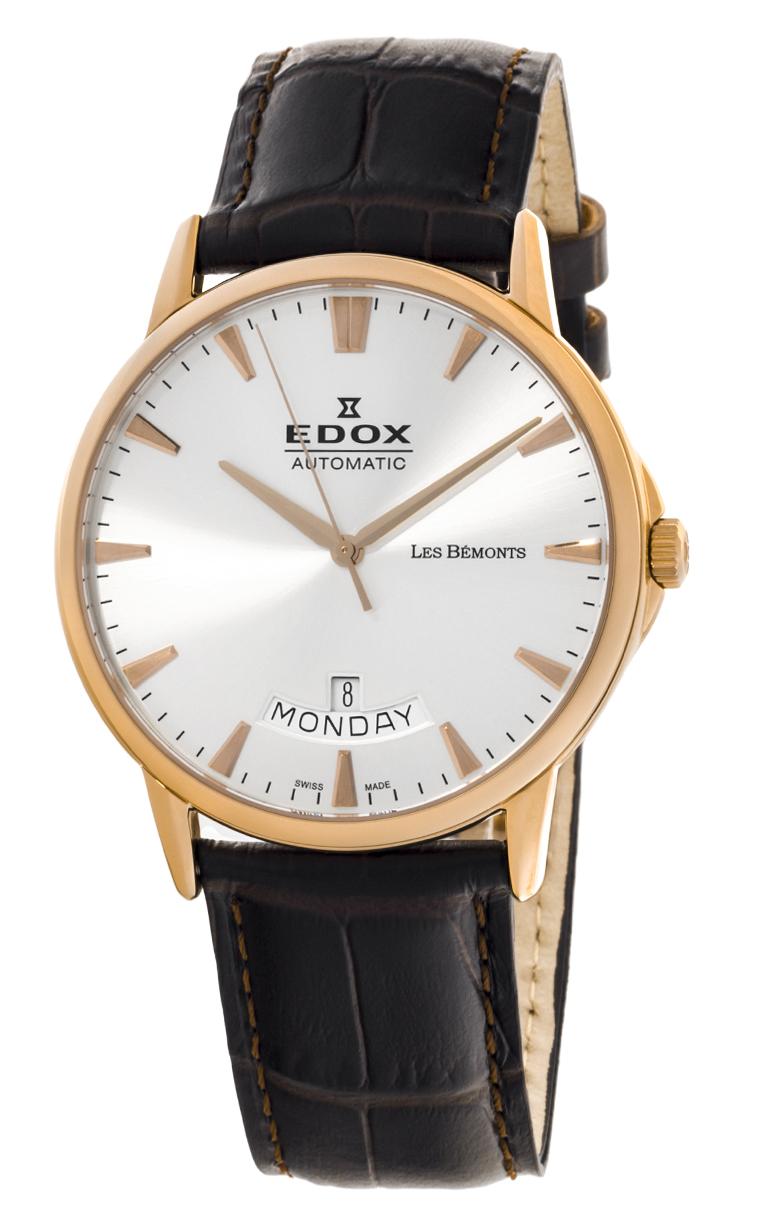 Часы Edox Les Bemonts Day Date 83015 37R BIR