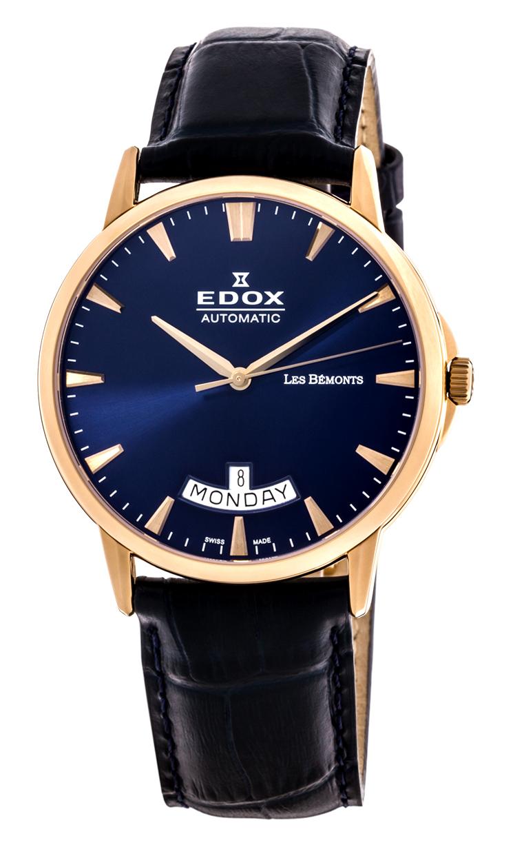 Часы Edox Les Bemonts Day Date 83015 37R BUIR