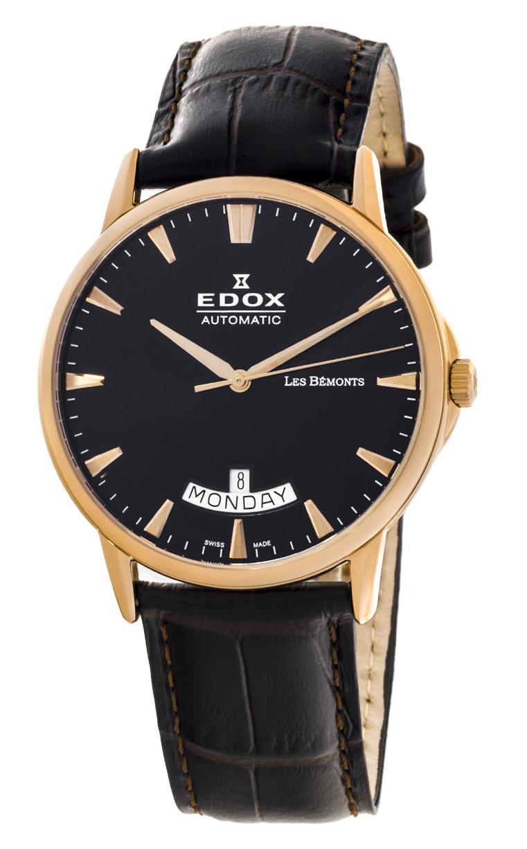 Часы Edox Les Bemonts Day Date 83015 37R NIR
